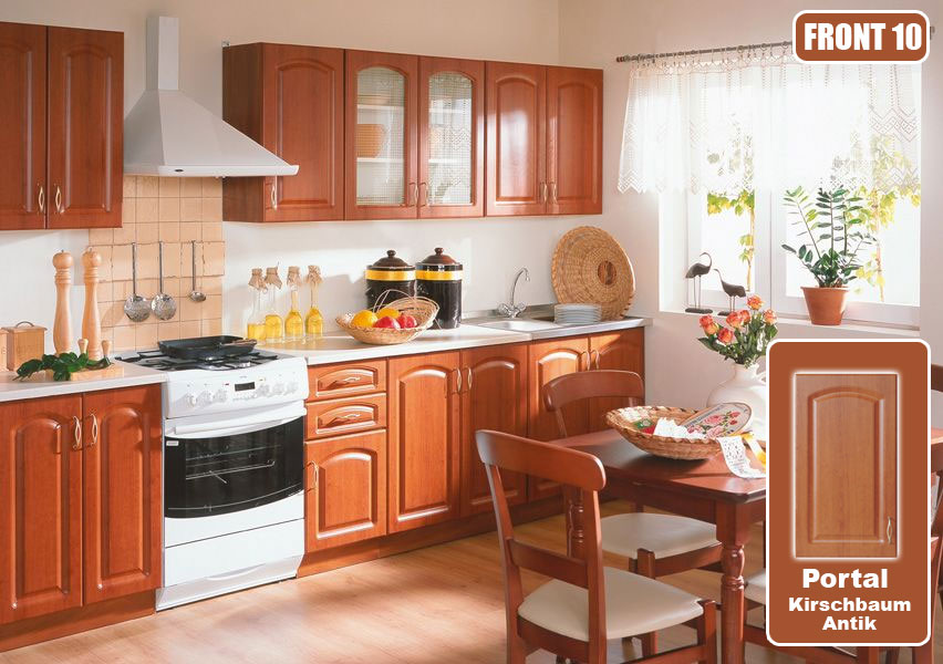 k che k chenzeile preiswerte einbauk che 260cm erweiterbar schnell g nstig ebay. Black Bedroom Furniture Sets. Home Design Ideas